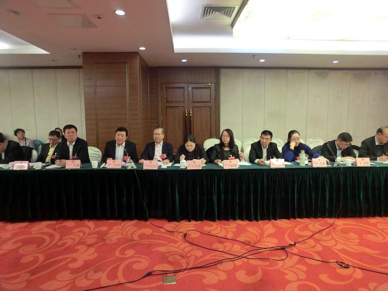 包头市人民代表大会各代表团分组审议政府工作报告