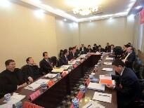 青山区代表团分组审议现场
