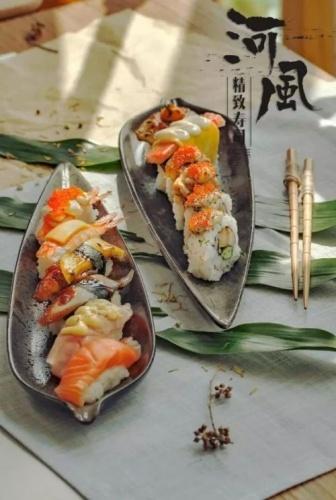 懒癌必备!网红外卖寿司空降大美包头,最美味、最颜值的【河风】等你来!