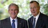 美国前总统布什父子罕见发声 反对任何形式种族主义
