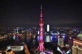 上海东方明珠变红色,庆祝肯德基进入中国30周年