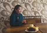 策克口岸的蒙古国女商人