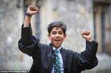 14岁男孩智商162超过爱因斯坦和霍金