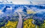 """""""中国高速仙境第一路""""广西合那高速公路成世界网红"""