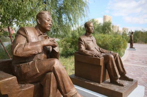 全国首个劳模主题雕塑公园建成开园