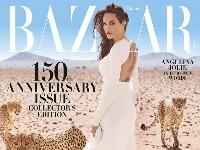 安吉丽娜·朱莉登杂志封面 电眼迷人演绎霸气女郎