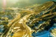 航拍雪后黄柏山:明珠一颗 见之忘俗