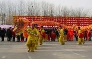 首届祈福鹿城(老北京)庙会自贡花灯艺术节开幕