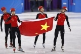 冬奥会中国男子接力惜败摘银 匈牙利夺冠破纪录
