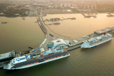 上海邮轮出入境游客突破千万人次 人均通关耗时6秒