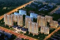 小区规划占地面积:90000平方米建筑面积:288000平方米容积率:2.
