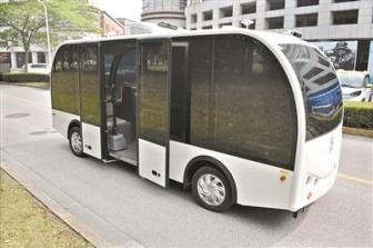 无人小巴研发者杨明:未来要做无人共享汽车