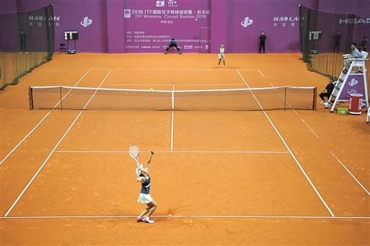 国际女子网球巡回赛·包头站揭幕