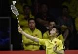 大奖娱乐888_汤尤杯中国男队战胜印度队,小组第一出线