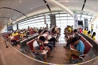 端午节小长假包头机场完成旅客吞吐量1.44万人次