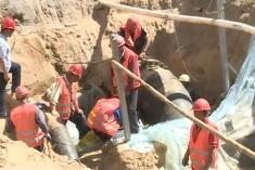 白彦道:雨水管线正改造 全线总长770米