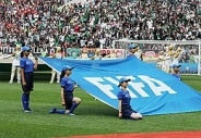 为足球插上梦想的翅膀 丹寨少年亮相世界杯揭幕战