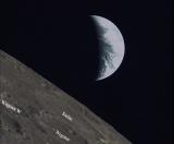 嫦娥四号中继星任务国际合作取得新成果 47千克微卫星发回月球照片