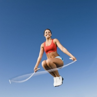 喜欢跳绳的女人不易衰老