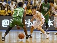 西安国际男篮冠军赛:中国队胜尼日利亚队