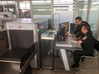 新葡京机场完成双视角X射线机首次定检