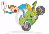 刚考完驾照还在实习期 男子驾驶无牌摩托车驾照被注销