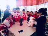 中国流动科技馆巡展活动在万水泉中心小学启动