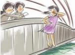 年輕女子夜晚黃河岸邊輕生 交警苦勸1小時成功救下