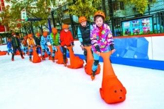 北京东城启用6块校园季节性冰场