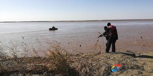 黃河小漁船遇險第六天 落水失蹤者依然下落不明