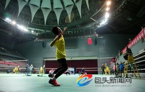 2018年包头市青少年羽毛球锦标赛开赛