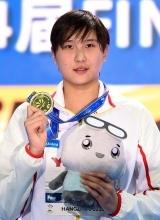 王简嘉禾首拿世界冠军 覃海洋200米蛙破亚洲纪录