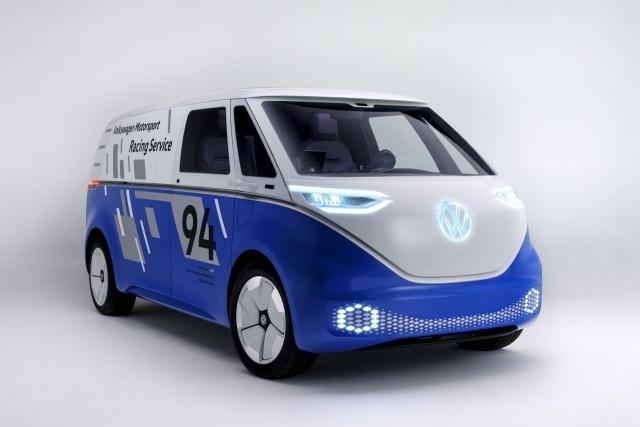 大奖888客户端下载_大众I.D. Buzz Cargo概念面包车将亮相洛杉矶车展
