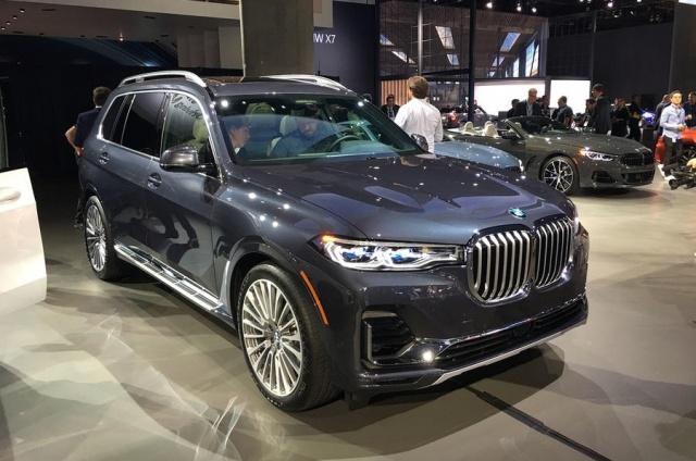 寶馬X7旗艦SUV洛杉磯車展亮相 將于2019年上市