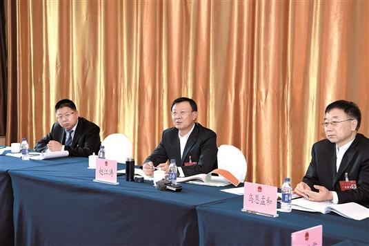 赵江涛:破除思想障碍 用心谋划发展 努力开创各项事业新局面