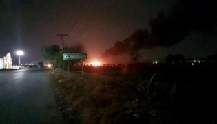 大奖888客户端下载_墨西哥中部一输油设施爆炸致20人死亡