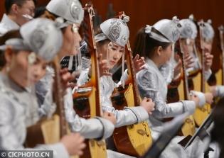 贺新春民族管弦乐音乐会在呼和浩特举行