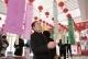 群众游艺过春节