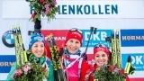 冬季两项世界杯库兹米娜斩获女子短距离赛季冠军