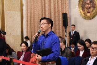 十三屆全國人大二次會議內蒙古代表團答記者問
