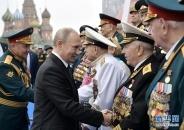 俄罗斯举行纪念卫国战争胜利74周年阅兵仪式 普京出席