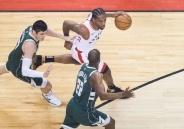 NBA丨美职篮东决猛龙胜雄鹿 总比分2:2战平