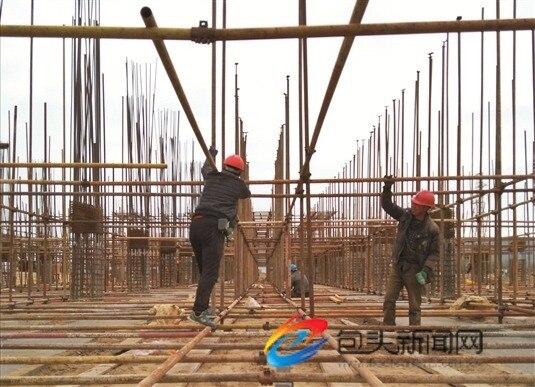 内蒙古稀土新材料产业园首个项目复工