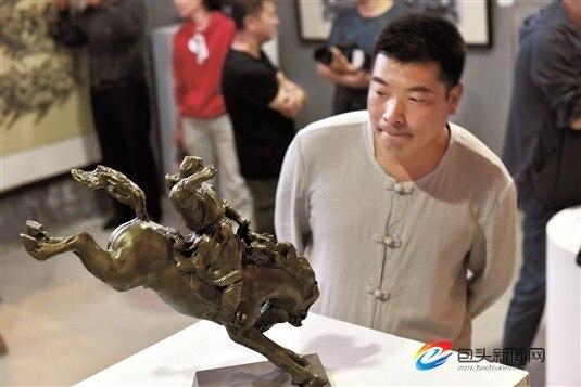 蒙古马精神美术作品展