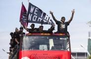 多伦多猛龙夺冠庆祝集会发生枪击案