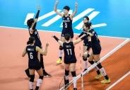 中國女排三戰全勝奪得世界女排聯賽北侖站冠軍