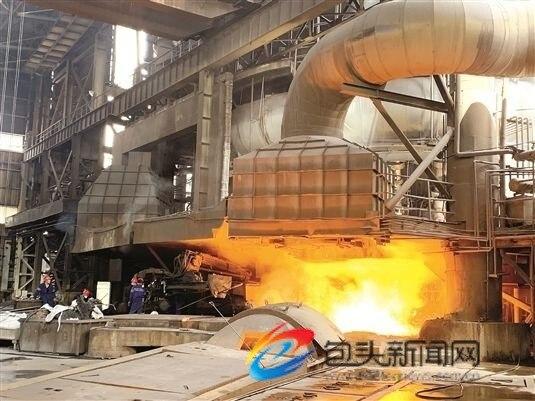 包钢钢产量月达产创新高