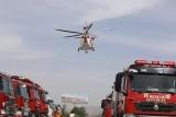 浓?#22530;?#28459;,昨日,救援直升机两次悬停G6高速包头服务区!