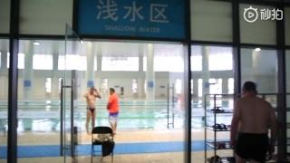 市体育中心游泳馆国际标准比赛池明日开放,一起去游泳么?.mp4