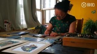包頭收藏藏書票第一人,曾和各國藝術家交換幾千枚精致藏書票